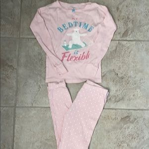 Carter's My Bedtime is Flexible Polar Bear PJ Set